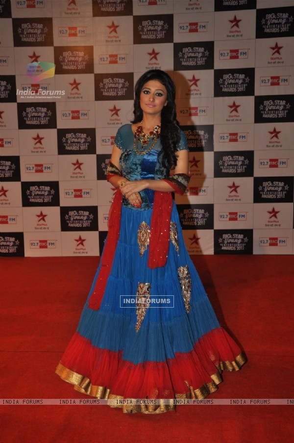 Ragini Khanna at BIG STAR Young Entertainer Awards 2012