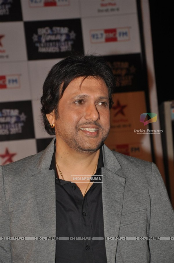 Govinda at BIG STAR Young Entertainer Awards 2012