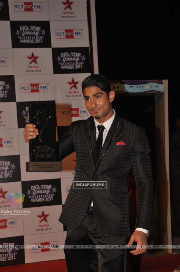 Prateik Babbar at BIG STAR Young Entertainer Awards 2012
