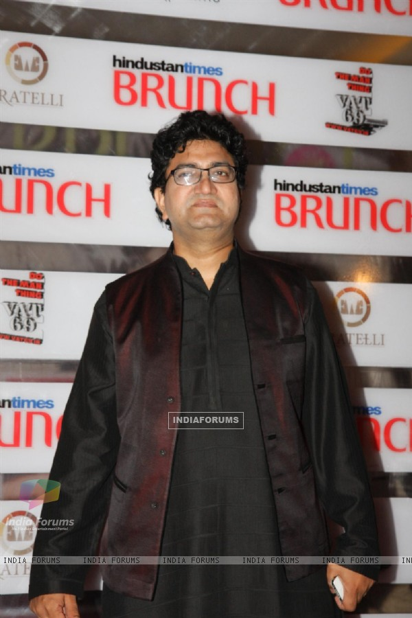 Prasoon Joshi at Hindustan Times Brunch Dialogues event