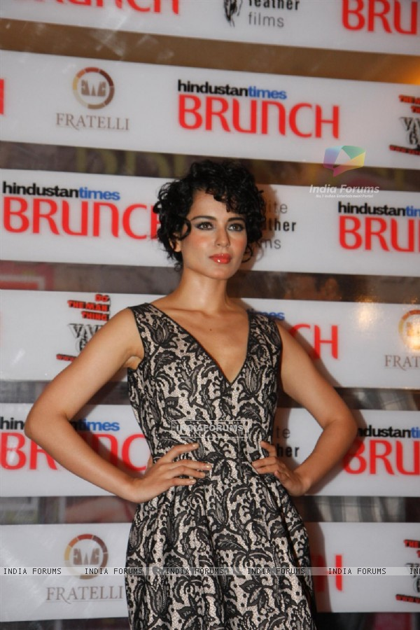 Kangna Ranaut at Hindustan Times Brunch Dialogues event