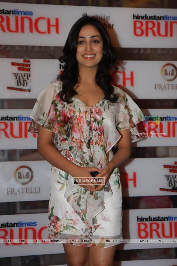 Yami Gautam at Hindustan Times Brunch Dialogues event