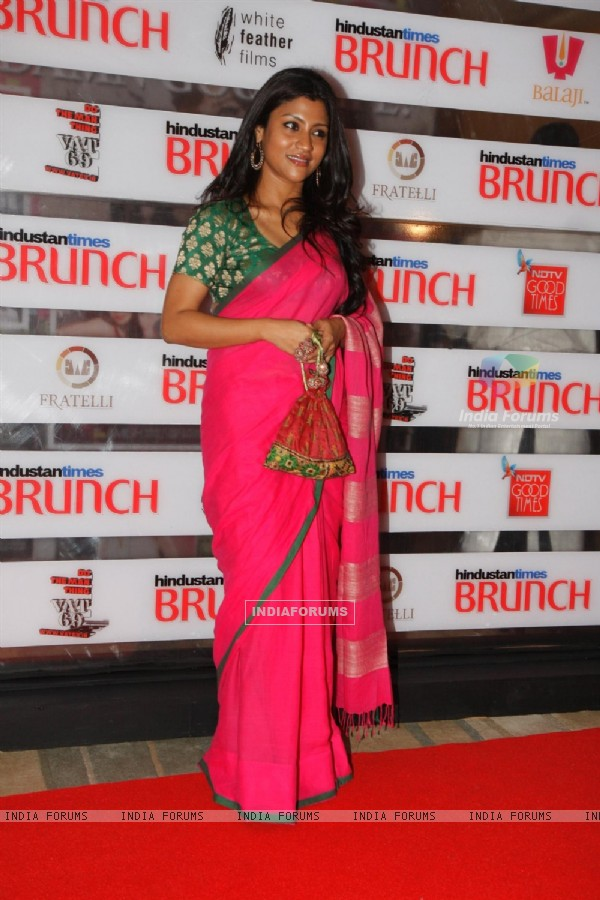 Konkona Sen Sharma at Hindustan Times Brunch Dialogues event