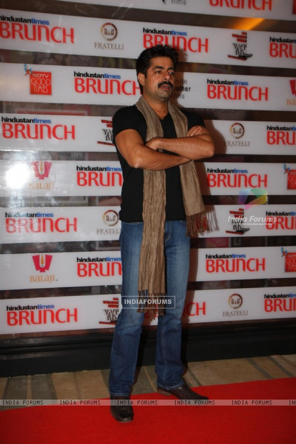 Sushant Singh at Hindustan Times Brunch Dialogues event