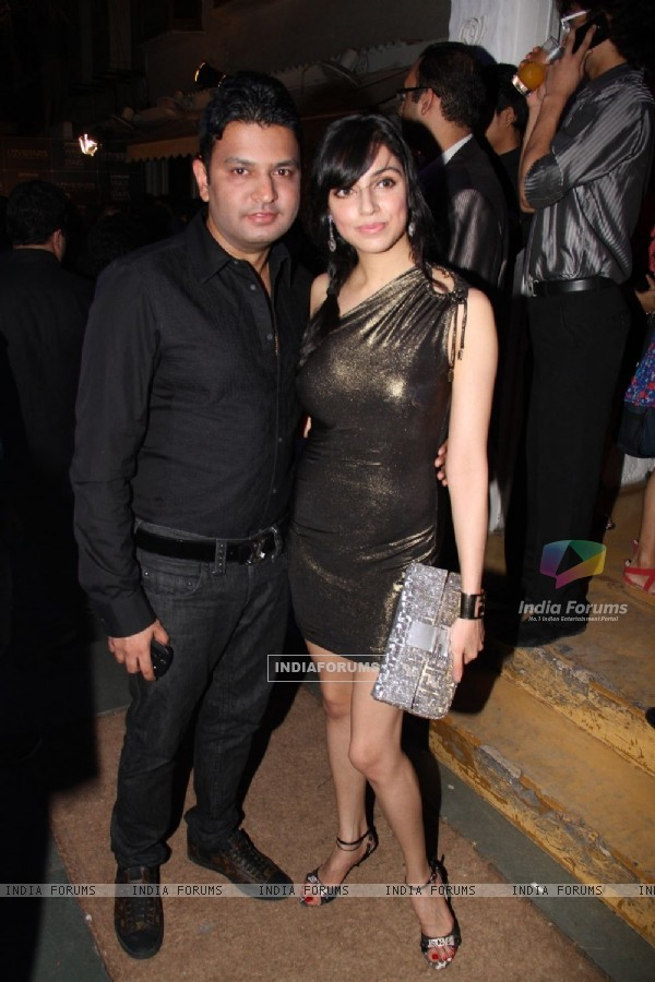 Bhushan Kumar and Divya Khosla at UTV Stars Walk of the Stars after party