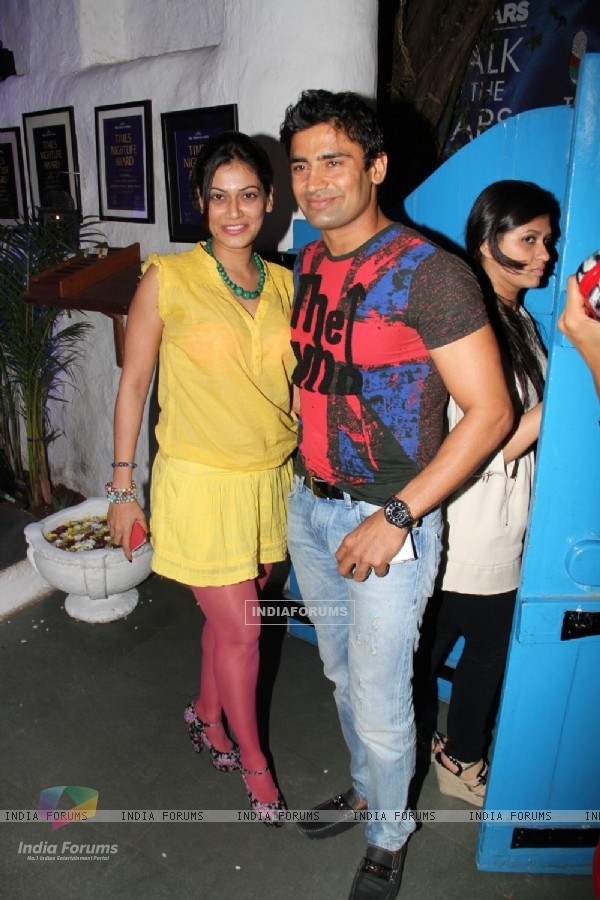 Payal Rohatgi and Sangram Singh at UTV Stars Walk of the Stars after party