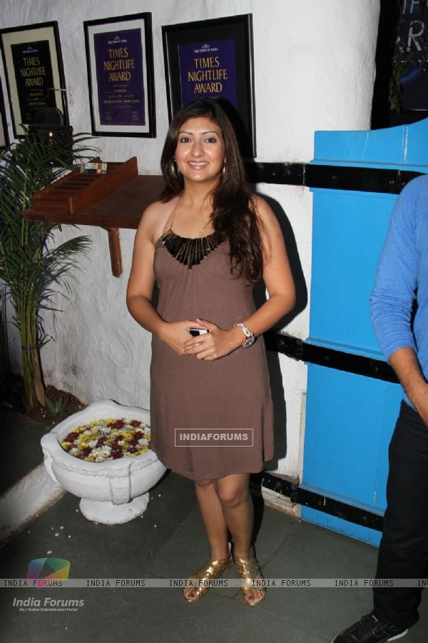Juhi Parmar at UTV Stars 'Walk of the Stars' after party