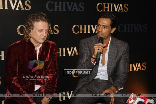 Arjun Rampal & Rohit Bal announce their association with Chivas at Chivas Studio Spotlights at Shiro's