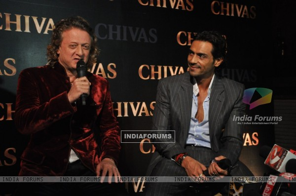 Arjun Rampal & Rohit Bal announce their association with Chivas