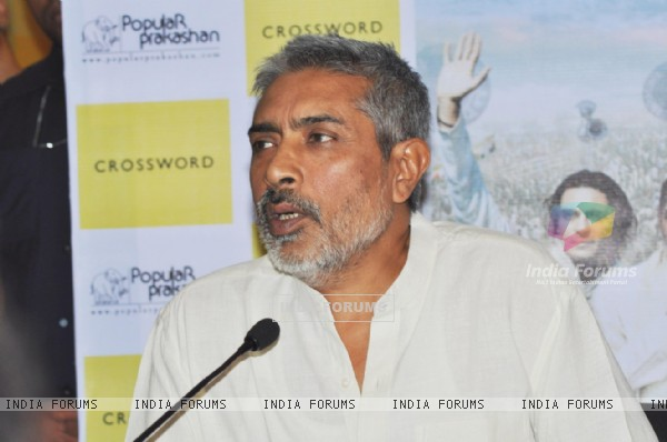 Prakash Jha at the launch of the book Rajneeti The Film & Beyond