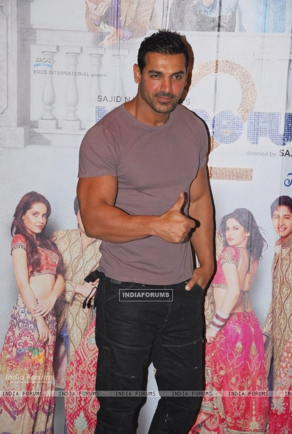 John Abraham at IIFA 2012 Voting Weekend
