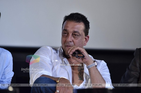 Sanjay Dutt at Munna Bhai film Chat Show
