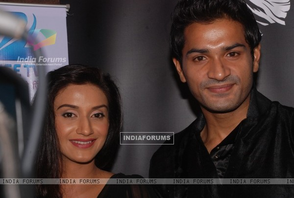 Rati Pandey and Mrunal Jain at celebration of 100 episodes of Hitler Didi