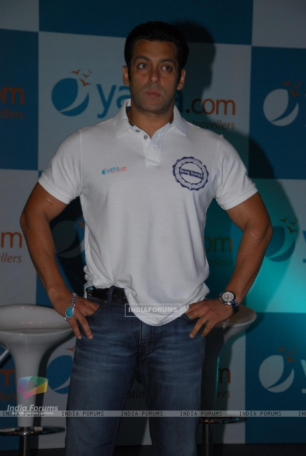 Salman Khan announced Brand Ambassador for travel portal Yatra.com
