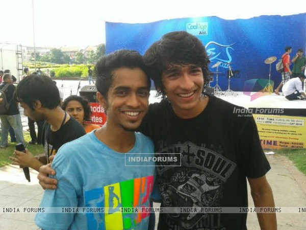 Shantanu Maheshwari and Macedon Dmello in Goa