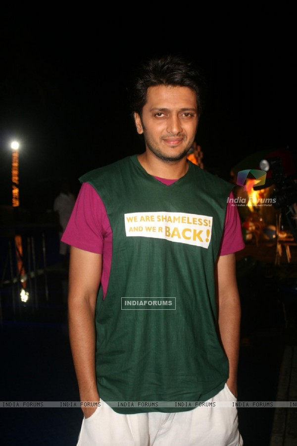 Ritesh Deshmukh at the first look launch of film Kyaa Super Kool Hain Hum