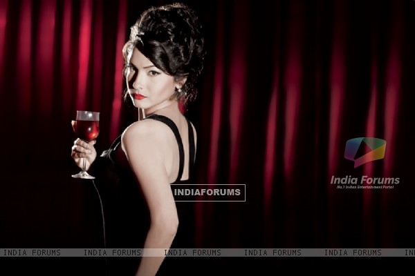 Ankita Lokhande on Marinating Films Calendar 2012