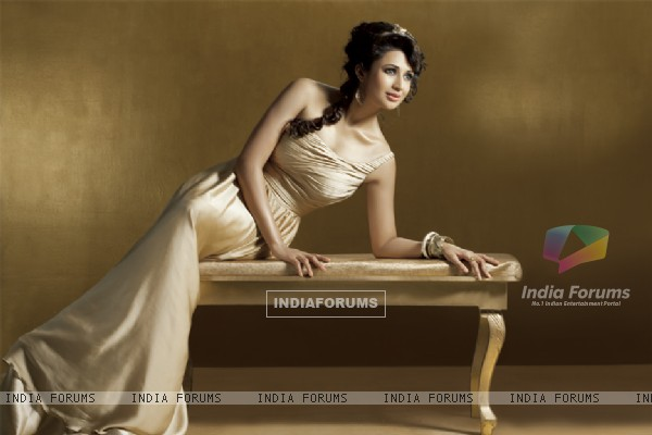 Divyanka Tripathy  on Marinating Films Calendar 2012