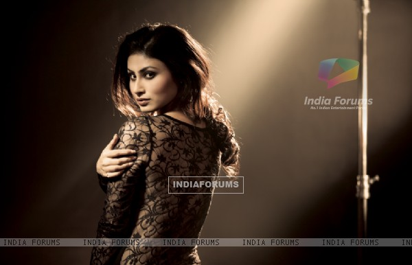 Mouni Roy  on Marinating Films Calendar 2012