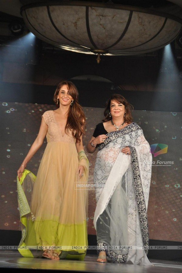 Farha Khan Ali and Zarine Khan at Lilavati's 'Save & Empower Girl Child' show