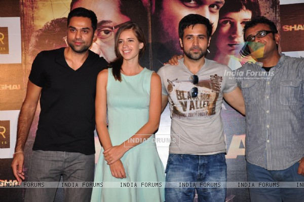 First look: Abhay Deol, Kalki Koechlin and Emraan Hashmi in Shanghai film. .