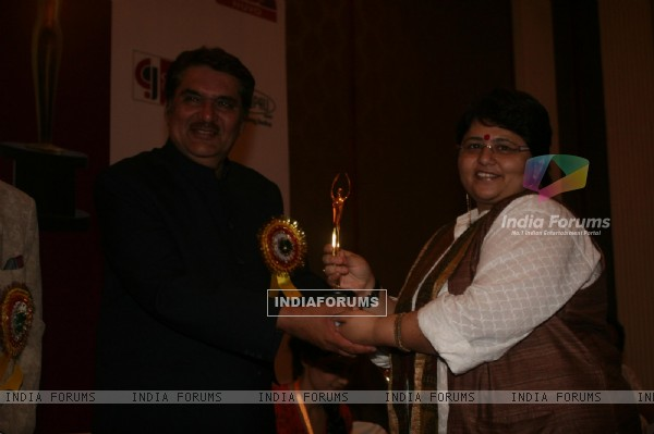 Raza Murad at Golden Achiever Awards 2012