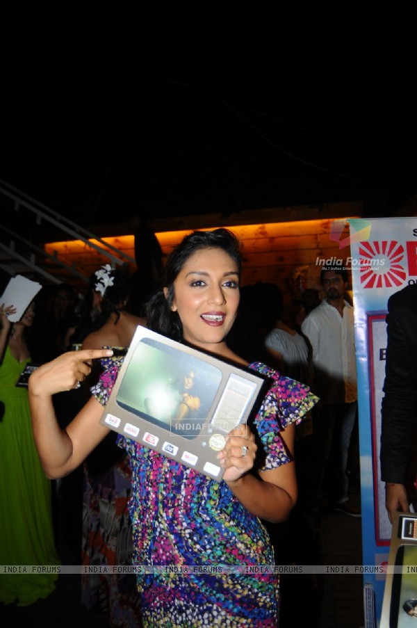 Shweta Salve at the Launch of Marinating Films Calendar 2012