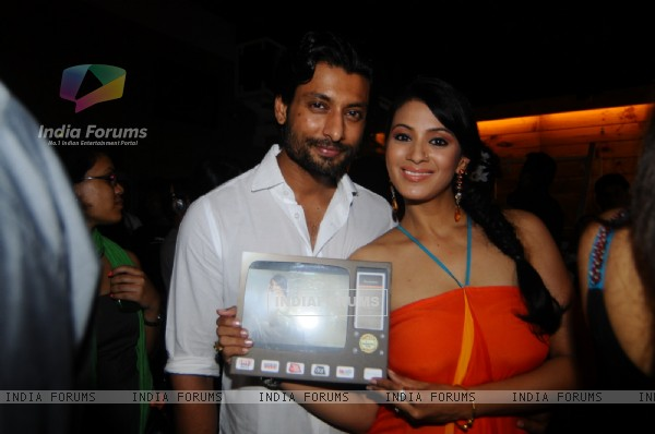 Indraneil Sengupta & Barkha Bisht at the Launch of Marinating Films Calendar 2012