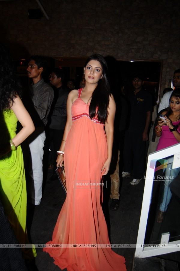 Pooja Gor at the Launch of Marinating Films Calendar 2012