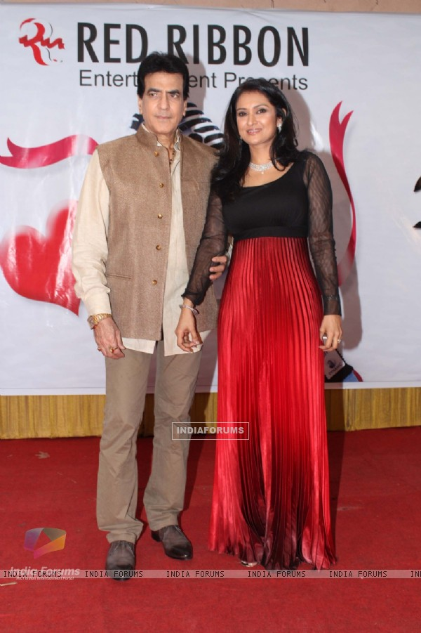 Jeetendra and Lalitya Munshaw at Pehli Nazar Music Album Launch
