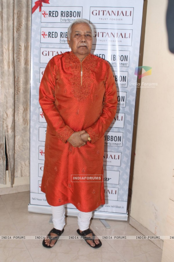 Ustad Ghulam Mustafa at Pehli Nazar Music Album Launch