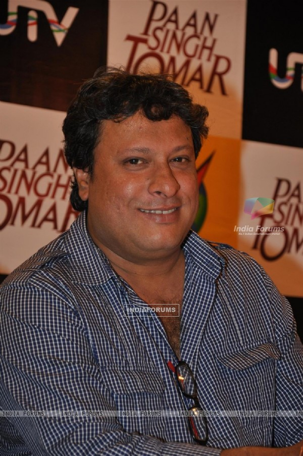 Timangshu Dhulia at Paan Singh Tomar DVD Launch