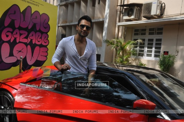 "Jackky Bhagnani during the Mahurat of Movie ""Ajab Gazabb Love"""