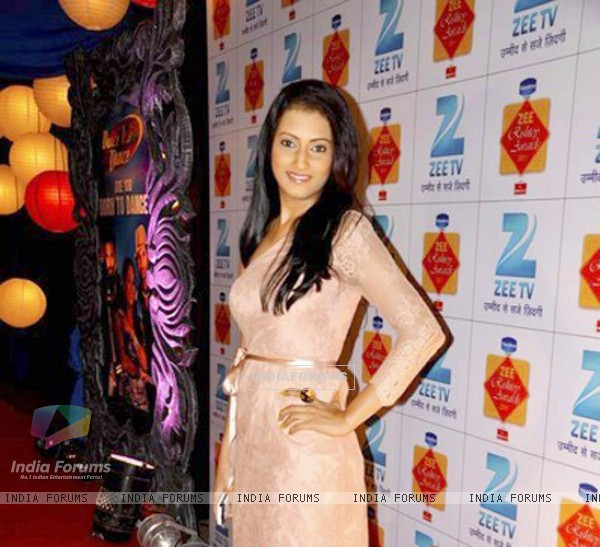 Additi Gupta attends the zee rishtey award night event