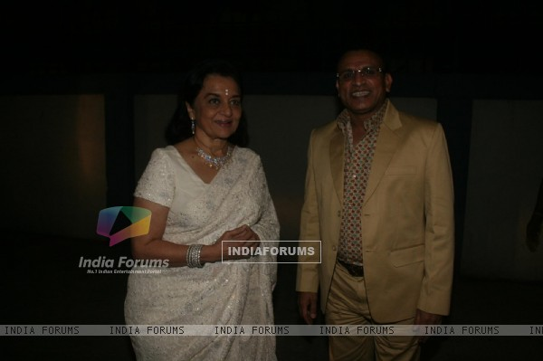 Asha Parekh and Anu Kapoor at Dadasaheb Ambedkar Awards
