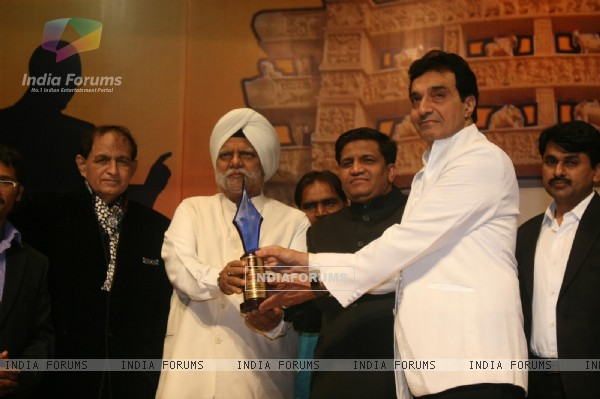 Shakeel Saifi, Dheeraj Kumar and Buta Singh at Dadasaheb Ambedkar Awards