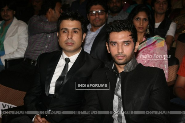 Chirag Paswan and Neeraj Soni at Dadasaheb Ambedkar Awards organised by Kailash Masoom & Harish Shah