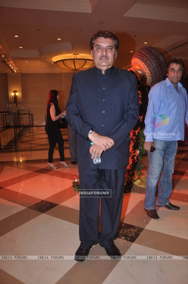 Raza Murad at Bappa Lahiri and Taneesha Verma Wedding Reception