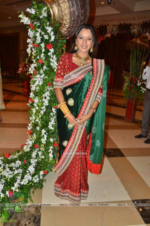 Rupali Ganguly at Bappa Lahiri and Taneesha Verma Wedding Reception