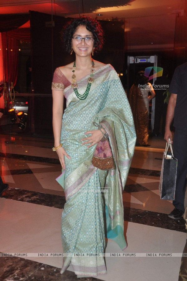 Kiran Rao at Bappa Lahiri and Taneesha Verma Wedding Reception
