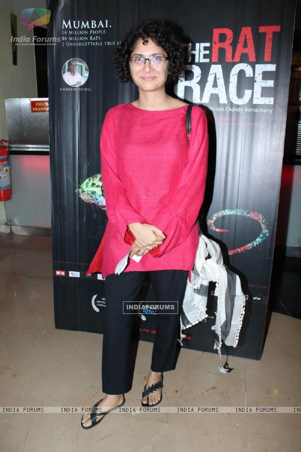 Kiran Rao at The Rat Race film premiere in PVR