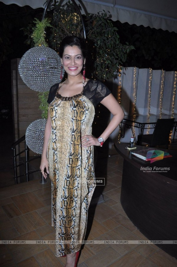 Payal Rohatgi at Dham Chaukdi album launch in Andheri, Mumbai