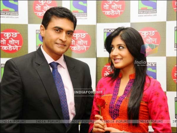 Mohnish Behl with Kritika kamra