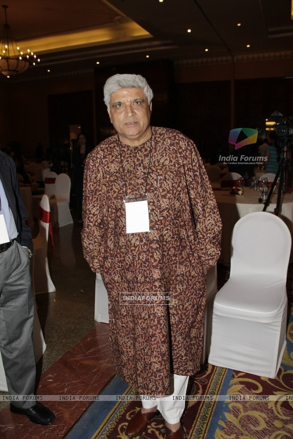 "Javed Akhtar at CII Organizes ""New Indian Woman"" Summit in Mumbai"