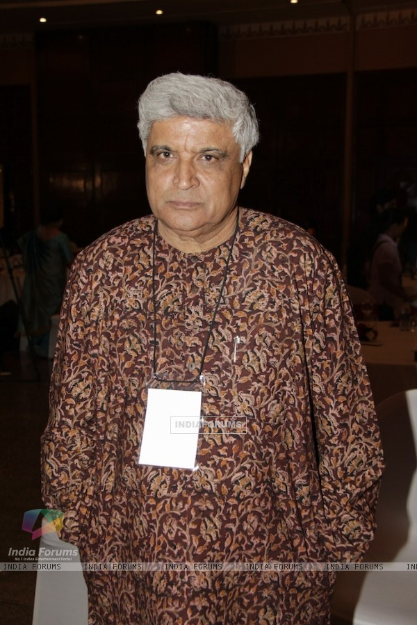 Javed Akhtar at CII Organizes �New Indian Woman� Summit in Mumbai