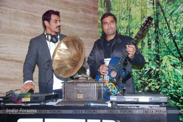 Arjun Rampal and Percept launch Lost music fest at Blue Sea, Mumbai