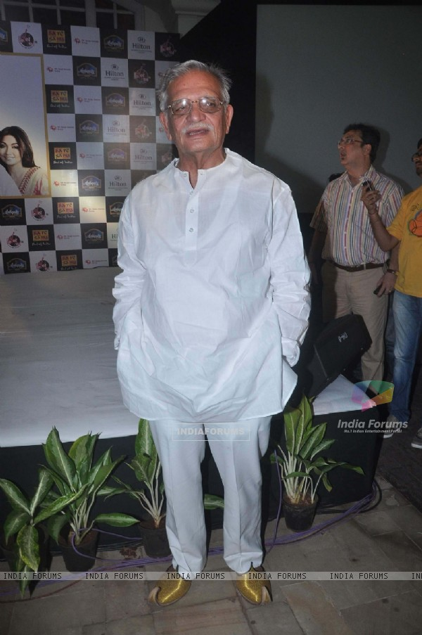 Gulzar at the launch of Gulzar's Album 'Aksar'