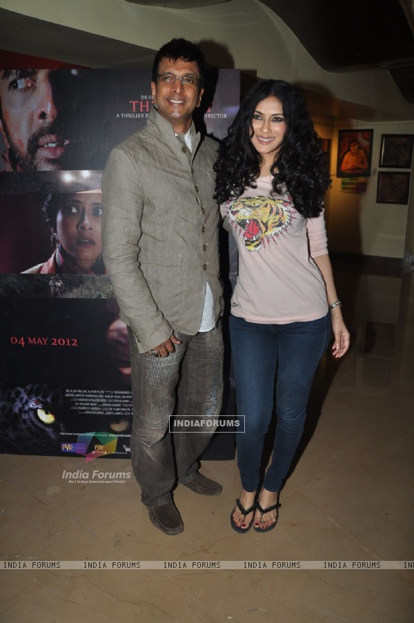 Jaaved Jaaferi and Nandana Sen at 'The Forest' Movie First Look launch