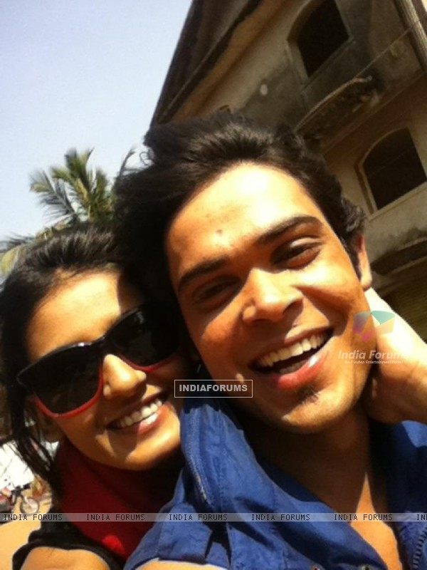 Kunwar Amarjeet Singh with Shakti Mohan in Goa