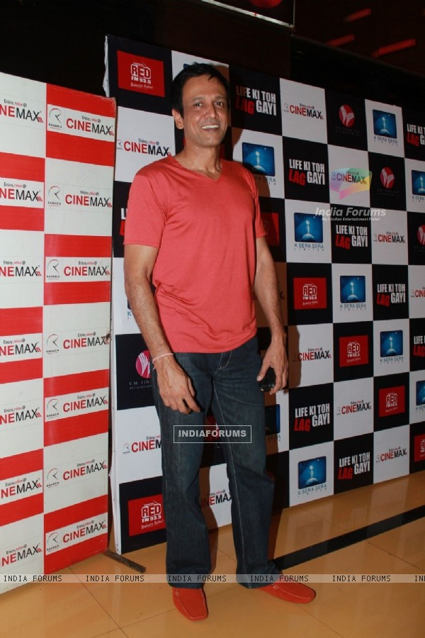 Kay Kay Menon at 'Life Ki Toh Lag Gayi' premiere at Cinemax, Mumbai